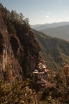 The less common view of Taktsang from above