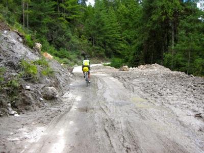 The road from Haa to Chuzom